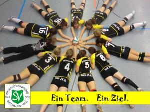 3. Platz in der Bezirksliga für Damen I